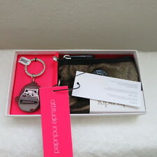 NWT KIPLING CREATIVITY S GIFT SET WITH KEY CHAIN GOLDEN GLITTER