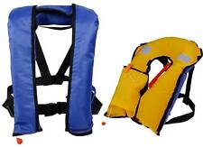 Automatic/Manuel Inflate Inflatable Survival Buoyancy PDF Life Jacket Vest XW