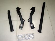 AUDI B5 S4 CERAMIC V6 BRAIDED FLEX VERSION4 AUDI 2.7L DOWNPIPES NON RES RS6