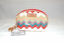 Missoni Wave Pattern Multi-Coloured Coated canvas Cosmetic Bag 17x10cm Zip
