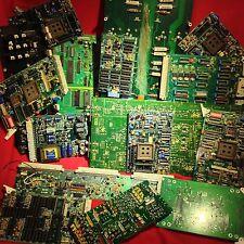 5 lbs High Yield GOLD Vintage TELECOM PCB DLP RAM Scrap Recovery MLCC Pins