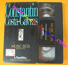 VHS film MUSIC BOX PROVA D'ACCUSA Constantin Costa Gavras REPUBBLICA(F109)no dvd