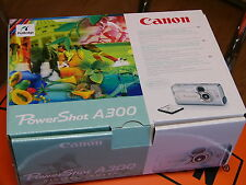 Brand New Canon PowerShot A300 3.2MP Digital Camera with 5.1x Digital Zoom
