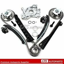 04-08 Ford Lincoln 5.4 TRITON 3-Valve Timing Chain Kit Cam Phaser Oil Pump