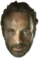 Rick Grimes The Walking Dead (Andrew Lincoln) Single Party Fun Card Face Mask