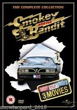 Smokey And The Bandit Trilogy Complete Collection Part 1 2 3 smocky NEW UK DVD