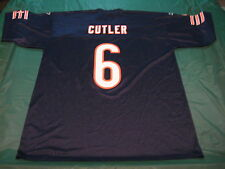 Reebok Team Apparel Jay Cutler #6 Chicago Bears Adult XL Screen Print Jersey