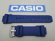 Genuine Casio G-Shock DW-9052 resin watch band navy blue fits DW-9050 DW-9051