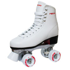 New Freesport Classic Quad roller skates kids Boot White Size 2 UK 34eu
