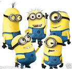 5PCS Minions Despicable Me 2 Wall stickers Wall Decal Removable Art Home Mural