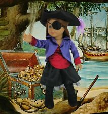 """Pirate 7 piece Set Costume made for 18"""" American Girl Doll Clothes GREAT VALUE"""