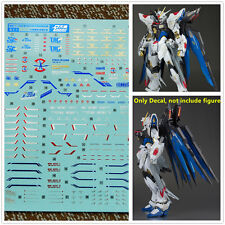 D.L high quality Decal water paste For Bandai MB Strike Freedom Gundam 4 color