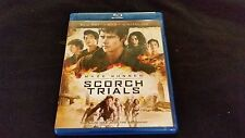 Maze Runner The Scortch Trials Blu ray+DVD+Digital HD