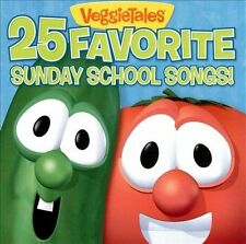 25 Favorite Sunday School Songs by VeggieTales (CD, Mar-2009, Big Idea Records)