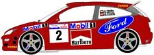 DECALS 1/43 FORD FOCUS RS WRC - #2 - KULIG - RALLYE DE POLOGNE 2001 - D43090