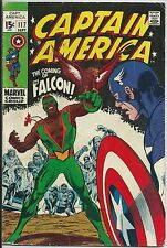 **CAPTAIN AMERICA #117**SEP 1969 MARVEL**1ST APP OF THE FALCON**SILVER AGE KEY**