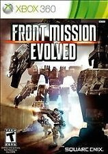 Front Mission Evolved (Microsoft Xbox 360, 2010) Complete (Tested: Works Great)