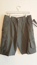 NWT NEW Men's size 30 Billabong Army Green skateboard n cargo shorts