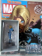 "Classic Marvel Figurine Collection # 41 "" INVISIBLE WOMAN "" Eaglemoss Super Hero"