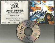 DONNA SUMMER the Power of One POKEMON Movie Song PROMO DJ CD single 2000 USA