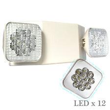 TP Lighting All LED Emergency Exit Light - Standard Square Head UL924 EL5C