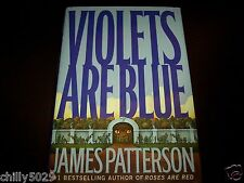 Violets Are Blue by James Patterson (2001, Hardcover) Alex Cross 1st Edition