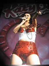 KATY PERRY SIGNED AUTOGRAPH 11x14 PHOTO TEENAGE DREAM CONCERT PROMO COA PROOF D