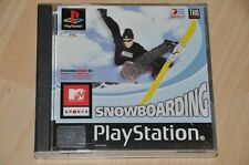 Playstation 1 Spiel - Snowboarding - MTV Sports - komplett PS1