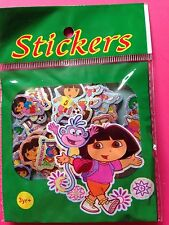 Promo 1 pack stickers 100 mini autocollants brillants DORA