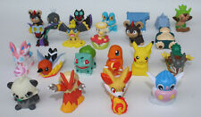 10 Pcs Lot Pokemon Go Action Figures Toys Dolls Pikachu Charmander Squirtle