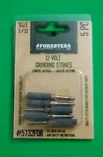 5 PACK CHAINSAW SHARPENING STONE 7/32 THREADED GRANBERG 12V