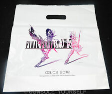 FINAL FANTASY XIII-2 -13 II - RARE PROMO CARRIER BAG