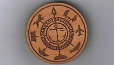 Alaska Wooden Nickel Token - AK Collector Laser Engraved 2015