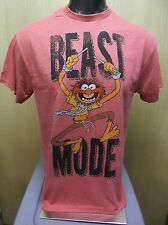 Mens Licensed Disney Muppets Animal Beast Mode Shirt New L