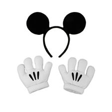 Deluxe Mickey Mouse Ears & Gloves Disney Oversized Cartoon Hands