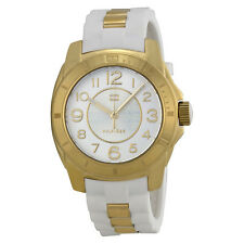 Tommy Hilfiger Silver Dial White Silicone Strap Ladies Watch 1781309