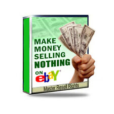 ~How to Make Money Selling Nothing on Ebay~!! PDF Ebook With Resell Rights !!~