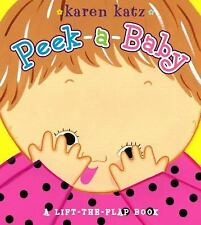 Peek-a-Baby by Karen Katz (2007, Board Book)