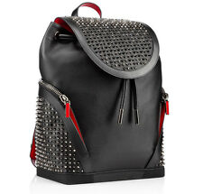 100% authentique neuf de la marque christian louboutin explorafunk red bottom sac à dos