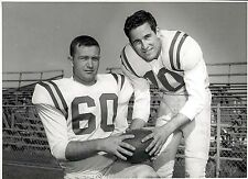 1957 Original Photo Hardin-Simmons Football co-captains Lawrence Hill Ken Ford