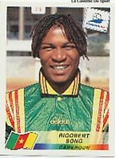 N°123 RIGOBERT SONG CAMEROUN CAMEROON PANINI WORLD CUP 1998 STICKER VIGNETTE 98