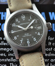 Hamilton Khaki Watch Nice Military ETA Swiss Movement All Original Runs Great!