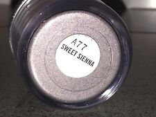 MAC SWEET SIENNA Pigment Sparkly Shimmer Discontinued RARE 7.5g full size NIB!!