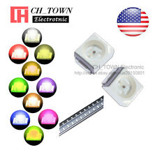 10 Lights 200PCS 1210 (3528) SMD SMT White Red Orange Purple LED Diodes Mix Kits