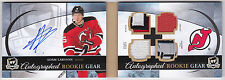 11-12 The Cup Adam Larsson /25 Autographed Rookie Gear 2011 Upper Deck Booklet