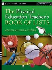 J-B Ed Book of Lists: The Physical Education Teacher's Book of Lists 54 by...