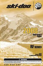 Ski-Doo owners manual book 2008 EXPEDITION / LEGEND / TUNDRA V800