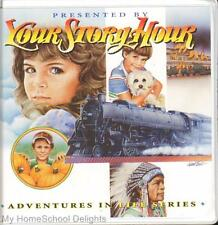 New YOUR STORY HOUR ADVENTURES IN LIFE #8 12 CDs Audio SET Dramatized Biography