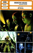 Movie Card. Fiche Cinéma. Monster House (U.S.A.) Gil Kenan 2006