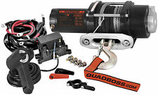 QuadBoss 3500LB ATV Winch RP35 with Dyneema Rope